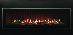 Boulevard Fireplace With Ridgeback Liner