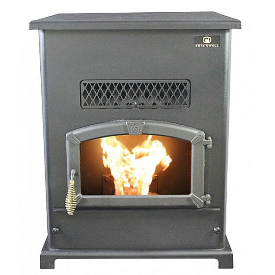 Breckwell Big E Sp1000 Pellet Stove Fine S Gas