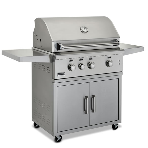 Broilmaster 34 Inch Stainless Cart Grill