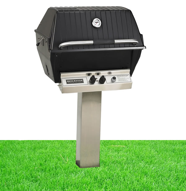Broilmaster P3x Series Grill With In Ground Post Fine S Gas