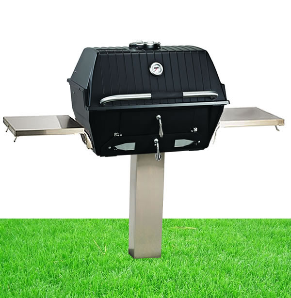 Broilmaster Independence In Ground Post Mount Charcoal