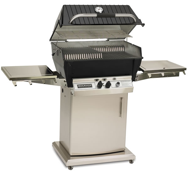 Broilmaster Gas Grill With Portable Storage Cart Fine S Gas