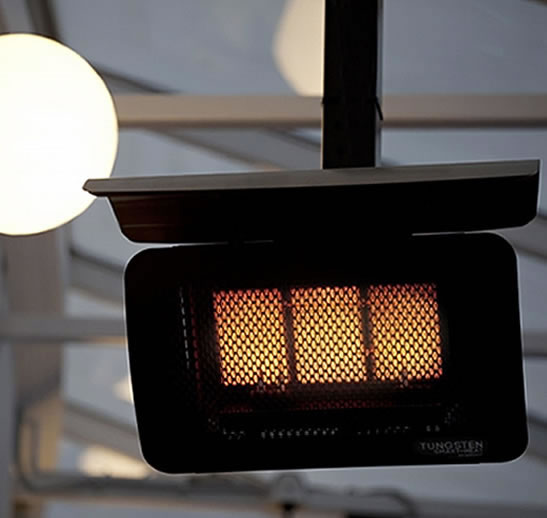 Bromic Tungsten 300 Gas Patio Heater Fine S Gas