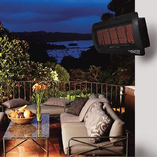Bromic Tungsten 500 Outdoor Heat Lamp Fine S Gas