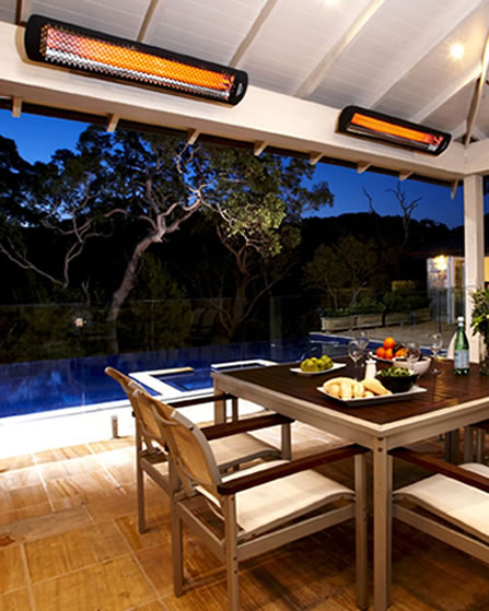 Outdoor Electric Patio Heater Reviews: Bromic Tungsten Outdoor Electric Heater