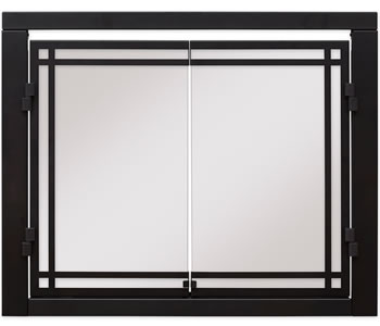 Dimplex Revillusion Glass Door