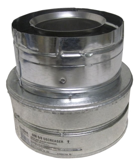 Duravent Direct Vent Pipe Reducer Fine S Gas