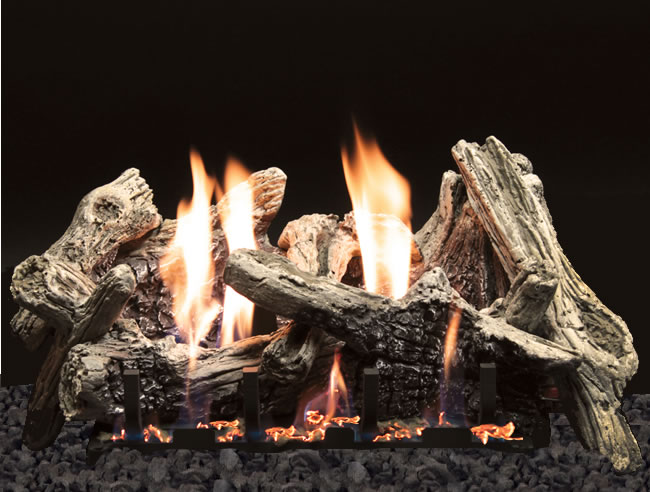 White Mountain Driftwood 18 Quot Vent Free Logs With Variable