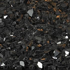Empire Black Crushed Glass