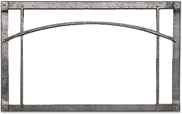 White Mountain Arched Forged Iron Front