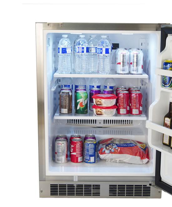 Fire Magic 6 5 Cubic Feet Outdoor Refrigerator