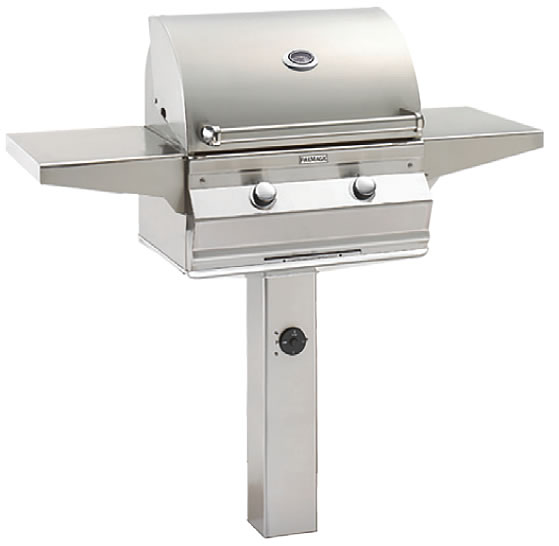Fire Magic Choice C430s In Ground Post Gas Grill Fine S Gas