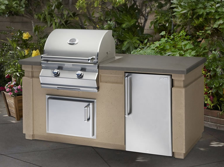 Fire Magic Choice Grill Outdoor Kitchen Island Package