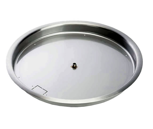 Burner Pan For 24 Inch Gas Fire Ring