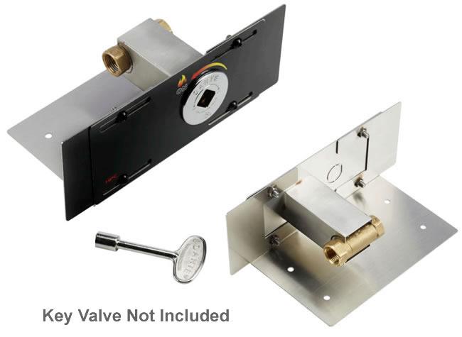 Fire Pit Key Valve Bracket Fine S Gas