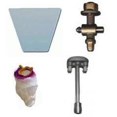 Wall Mount Gas Lights Light Parts