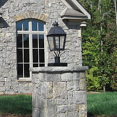 Outdoor gas lighting fines gas post mount gas lights pier mount gas lights aloadofball Gallery