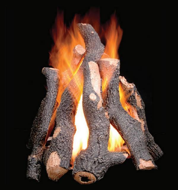 Golden Blount 24 Grand Fire Pit Log Set Fine S Gas