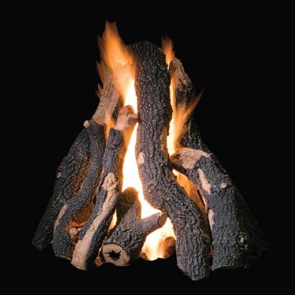 Golden Blount 36 Grand Fire Pit Log Set Fine S Gas