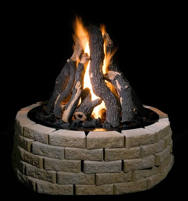 Golden Blount 36 Quot Grand Fire Pit Kit Fine S Gas