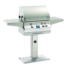 Post Mounted Gas Grills