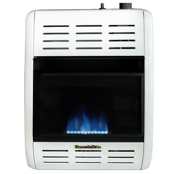 Hearthrite 6 000 Btu Blue Flame Gas Space Heater Fine S Gas