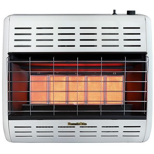Hearthrite 30 000 Btu Infrared Gas Space Heater Fine S Gas