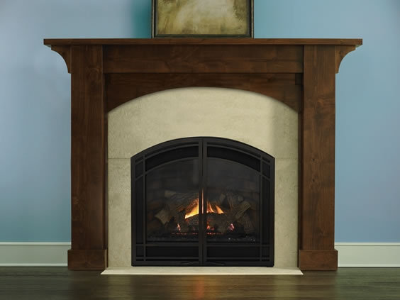 Heat N Glo Cerona 36 Arched Direct Vent Fireplace