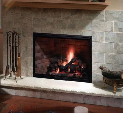 Heatilator Icon-80 42 Inch Wood Burning Fireplace