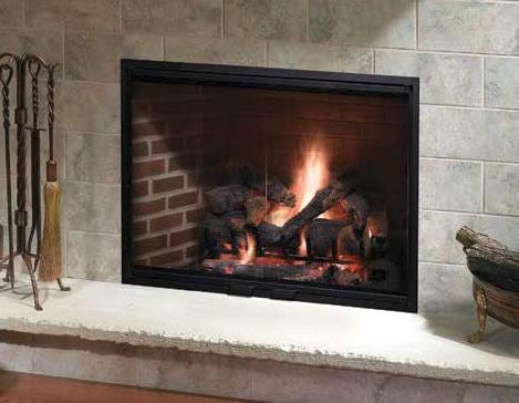 Heatilator Icon 60 36 Inch Wood Burning Fireplace