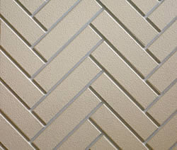 Castlewood Fireplace Herringbone Brick