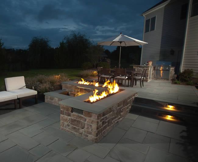 48 Trough Style Linear Match Lit Fire Pit Kit Fine S Gas