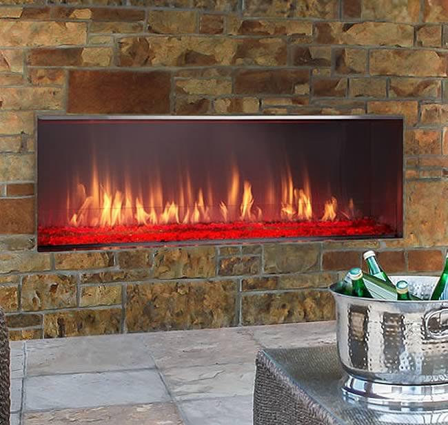Lanai Outdoor Gas Fireplace | Fine's Gas