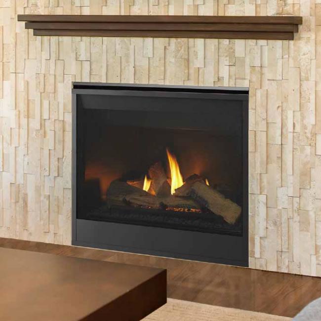 "Meridian 42"" Fireplace by Majestic | Fine's Gas"