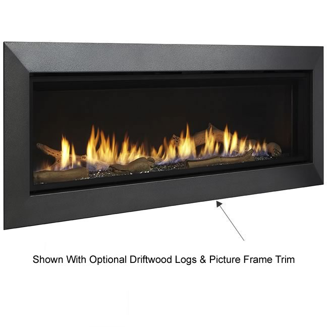 Majestic Wide View Echelon Ii Direct Vent Fireplace 48