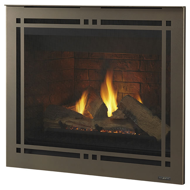 "Meridian 36"" Fireplace by Majestic 