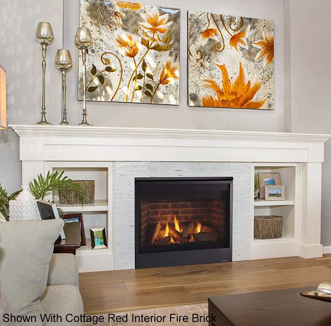Quartz 36 Inch Direct Vent Fireplace By Majestic Fine S Gas