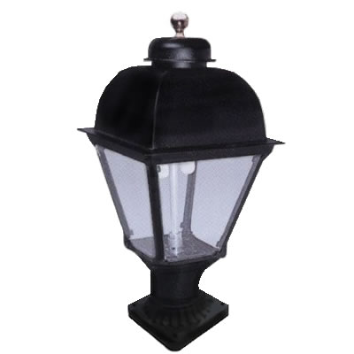 Pier Mount Gas Light With Rounded Top Fine S Gas
