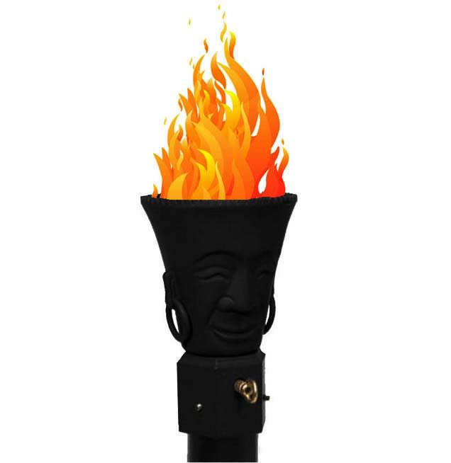 Polynesian Gas Tiki Torch Head Fine S Gas