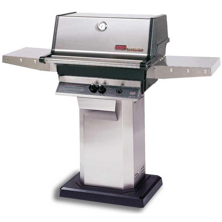Mhp Tjk Series Natural Gas Grill With Pedestal Mount Base