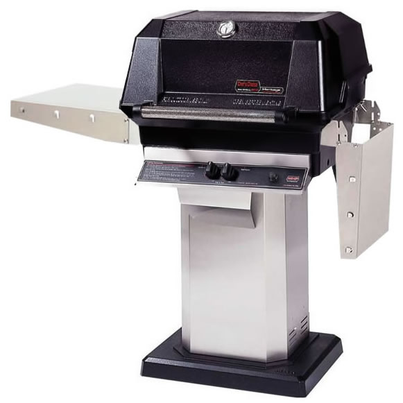 Mhp Gas Grill Wnk Series With Pedestal Mount Base Fine S Gas
