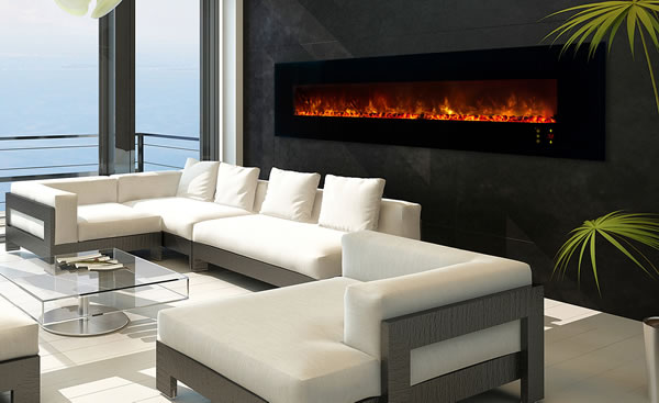 Modern Flames 100 Inch Electric Fireplace Fine S Gas