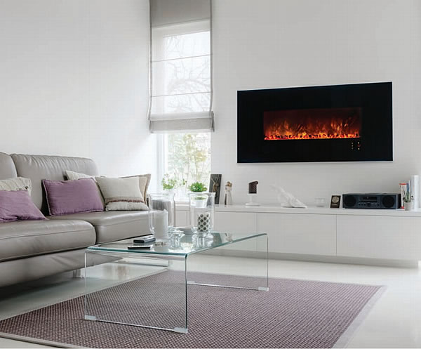 Modern Flames 60 Inch Electric Fireplace Wall Recessed