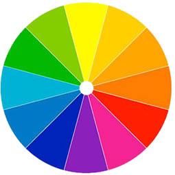 Back Lighting Color Wheel
