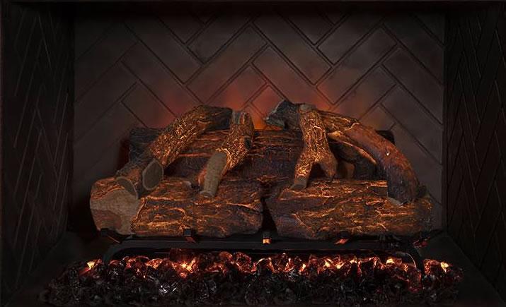 Modern Flames Sunset Charred Oak Electric Fireplace Logs