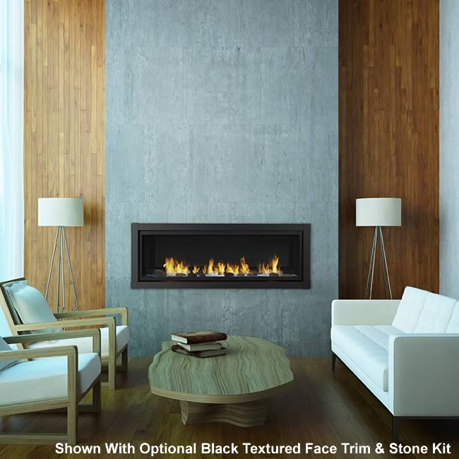60 Vent Free Linear Fireplace