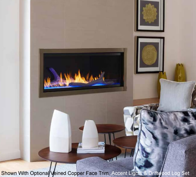 Monessen Artisan Contemporary Linear Fireplace System