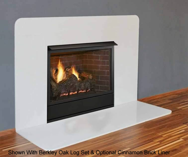 Monessen Aria 32 Inch Vent-Free Fireplace System | Fine's Gas