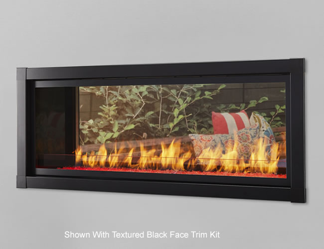 Artisan See Through Vent Free Linear Fireplace Fine S Gas