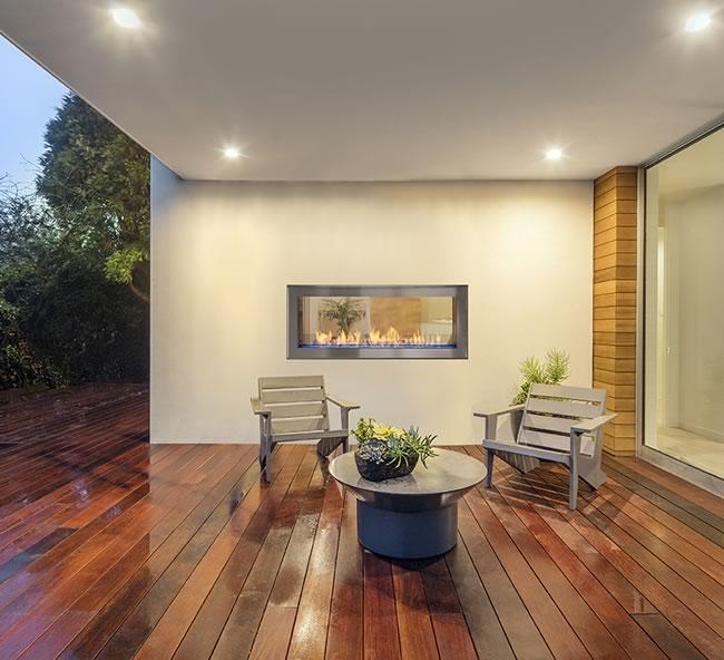 Phenomenal Artisan See Through Vent Free Linear Fireplace Download Free Architecture Designs Parabritishbridgeorg